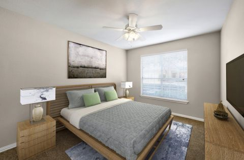Spacious Bedroom at Camden Addison Apartments in Addison, TX