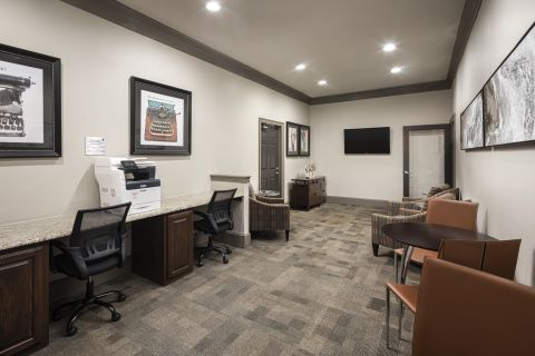 Community Workspace at Camden Addison Apartments in Addison, TX