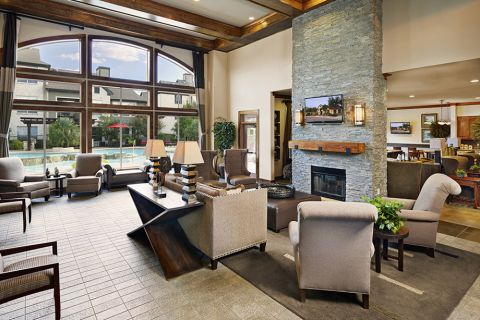 Welcome Center at Camden Amber Oaks Apartments in Austin, TX
