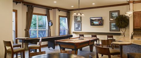 Game Room at Camden Amber Oaks Apartments in Austin, TX
