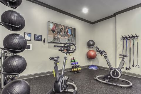 Fitness Studio Camden Asbury Village Apartments in Raleigh, NC