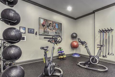 Fitness Studio Camden Asbury Village Apartments in Raleigh, NC