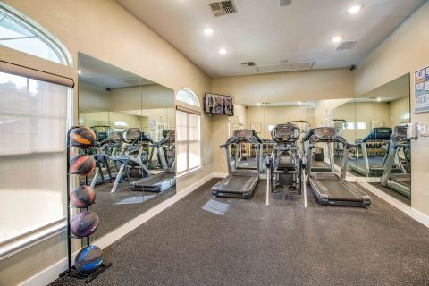 Fitness Center at Camden Ashburn Farm Apartments in Ashburn, VA
