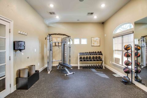 Fitness Center at Camden Ashburn Farm Apartments in Ashburn, VA