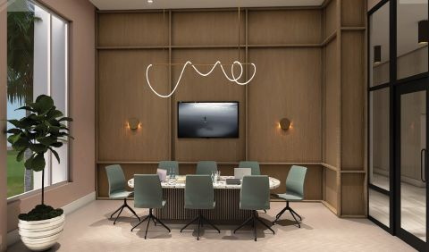 Conference Room at Camden Atlantic Apartments in Plantation, FL