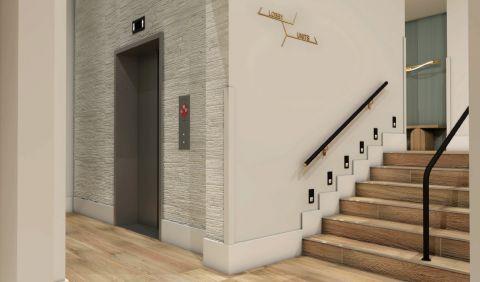 Elevator Lobby at Camden Atlantic Apartments in Plantation, FL