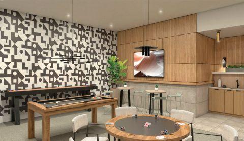 Game Room at Camden Atlantic Apartments in Plantation, FL