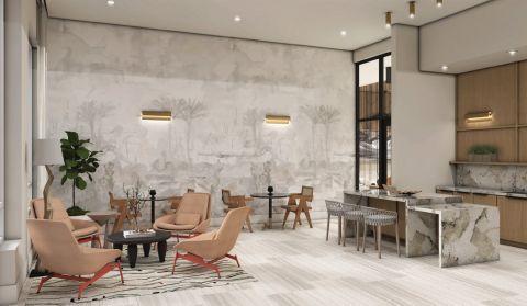 Resident Lounge at Camden Atlantic Apartments in Plantation, FL
