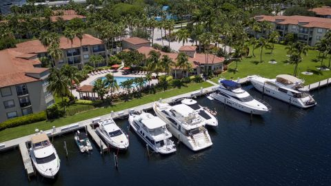 Yacht Marina at Camden Aventura Apartments in Aventura, FL