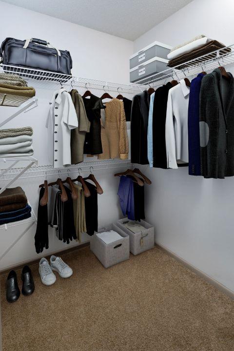 Walk In Closet at Camden Aventura Apartments in Aventura, FL