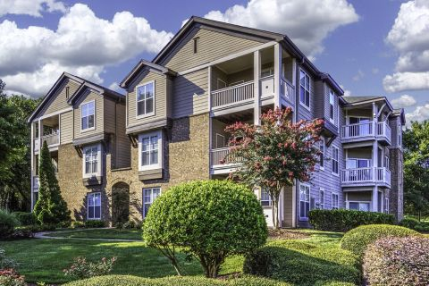 Exterior at Camden Ballantyne Apartments in Charlotte, NC
