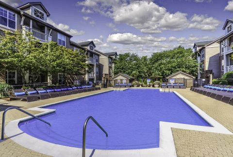 Swimming Pool at Camden Ballantyne Apartments in Charlotte, NC