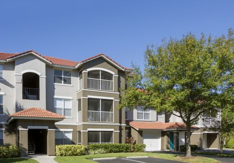 Enclosed Balconies at Camden Bay Apartments in Tampa, FL