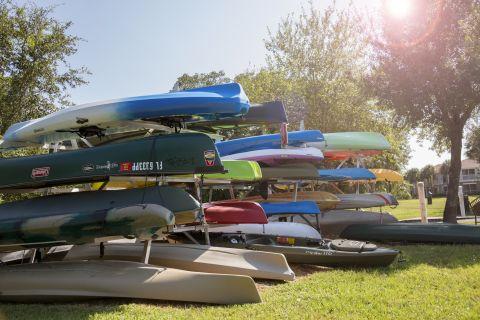 Kayak Storage at Camden Bay Apartments in Tampa, FL