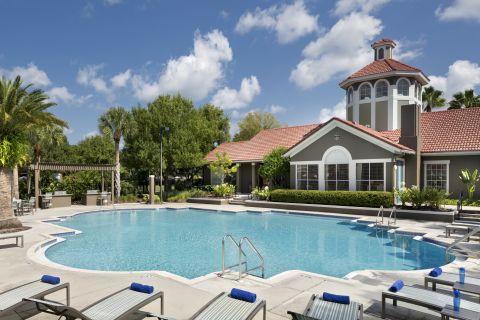 Pool at Camden Bay Apartments in Tampa, FL