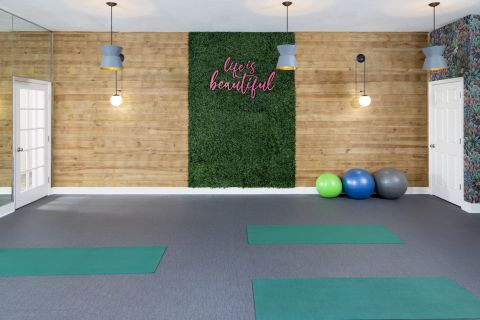 Yoga Studio at Camden Bay Apartments in Tampa, FL