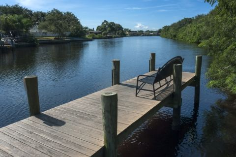 Dock at Camden Bay Apartments in Tampa, FL