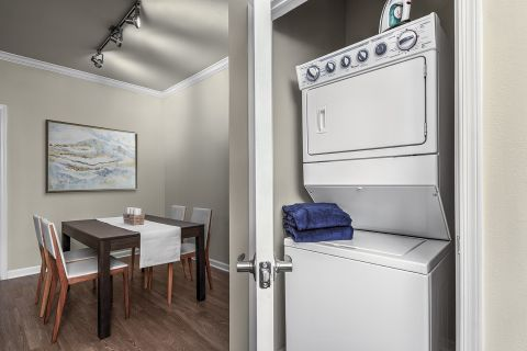In Unit Washer/Dryer at Camden Belleview Station Apartments in Denver, CO