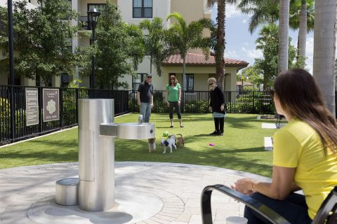 Dog Park at Camden Boca Raton Apartments in Boca Raton, FL