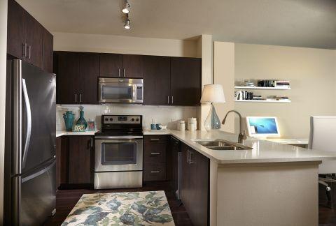 Kitchen at Camden Boca Raton Apartments in Boca Raton, FL