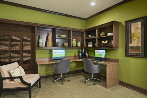 Business Center with Printer at Camden Breakers Apartments in Corpus Christi, TX