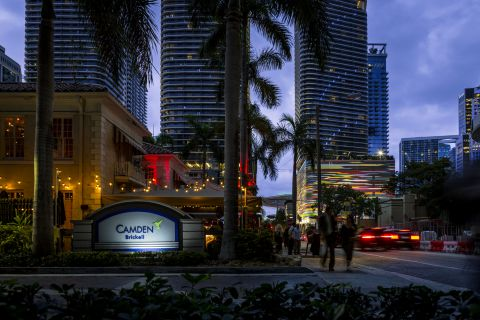 Downtown View at Camden Brickell Apartments in Miami, FL