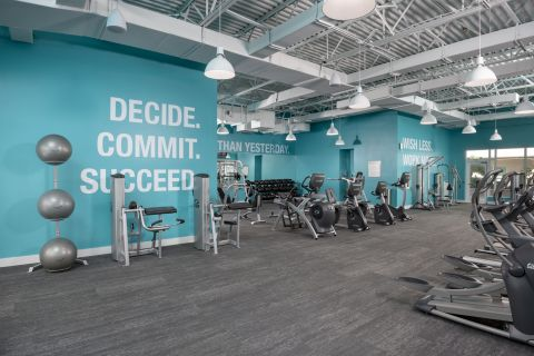 Fitness Center at Camden Brickell Apartments in Miami, FL