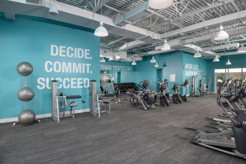Fitness Center at Camden Brickell Apartments in Miami, FL
