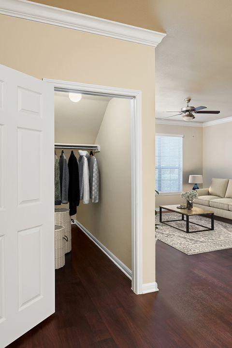 Coat Closet at Camden Brushy Creek Apartments in Cedar Park, TX