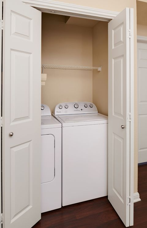 In-Unit Laundry at Camden Brushy Creek Apartments in Cedar Park, TX