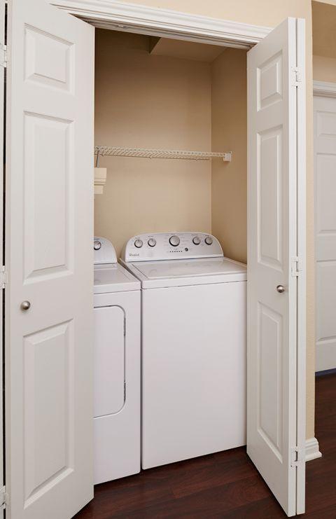 Laundry at Camden Brushy Creek Apartments in Cedar Park, TX
