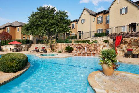 Swimming Pool at Camden Brushy Creek Apartments in Cedar Park, TX