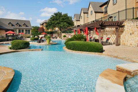 Pool at Camden Brushy Creek Apartments in Cedar Park, TX