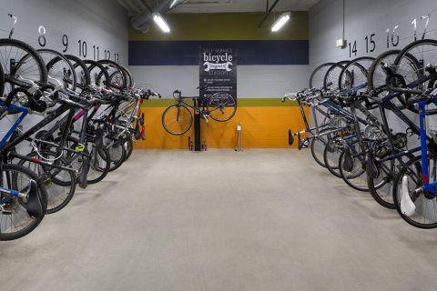 Bike storage at Camden Buckhead Square Apartments in Atlanta, GA
