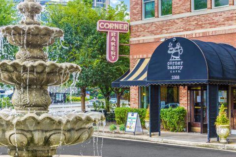 Nearby dining at Camden Buckhead Square Apartments in Atlanta, GA