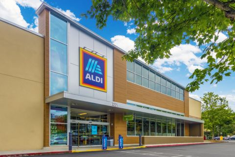 Nearby grocery store at Camden Buckhead Square Apartments in Atlanta, GA