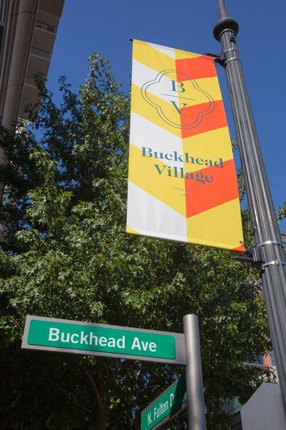 Buckhead Village near Camden Buckhead Square Apartments in Atlanta, GA