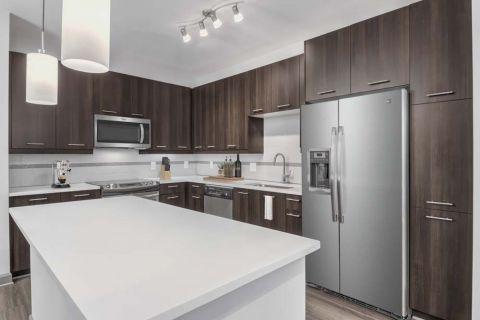Kitchen at Camden Buckhead Square Apartments in Atlanta, GA