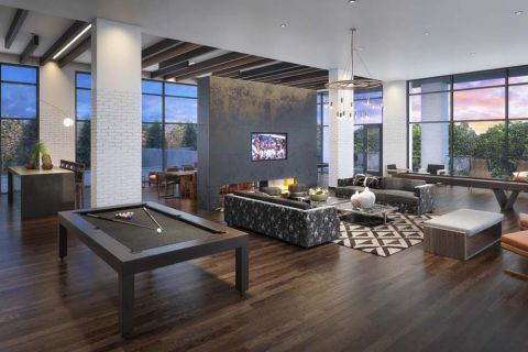 Resident Lounge at Camden Buckhead Apartments in Atlanta, GA