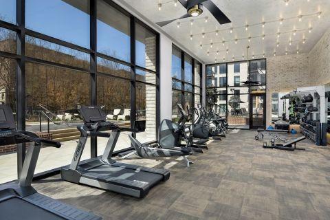 Fitness Center at Camden Buckhead apartments in Atlanta, GA