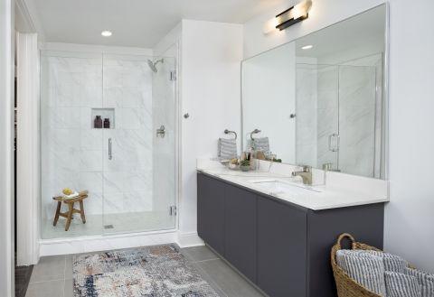 Bathroom at Camden Buckhead apartments in Atlanta, GA