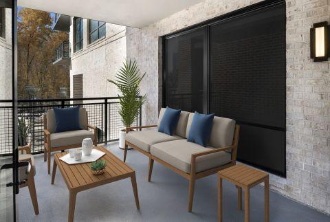 Private Balcony at Camden Buckhead apartments in Atlanta, GA