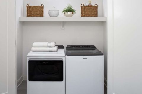 Full Size Washer and Dryer  at Camden Buckhead apartments in Atlanta, GA