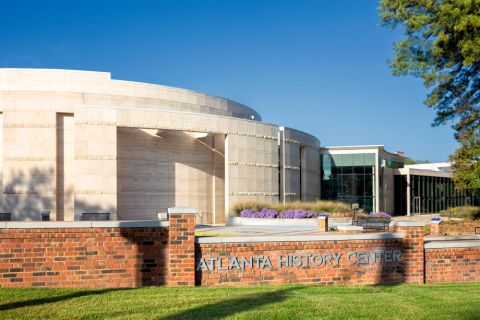 Atlanta History Center near Camden Buckhead apartments in Atlanta, GA