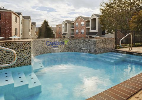 Hot Tub at Camden Caley Apartments in Englewood, CO