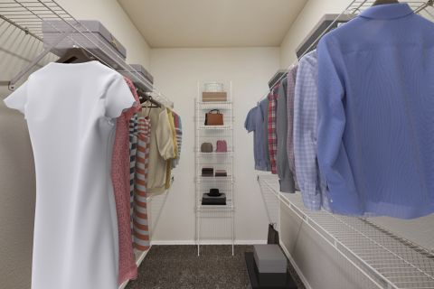 Walk-In Closet at Camden Caley Apartments in Englewood, CO