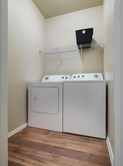 Washer and Dryer at Camden Caley Apartments in Englewood, CO