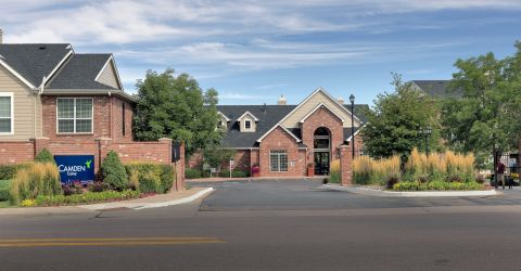 Welcome Center at Camden Caley Apartments in Englewood, CO