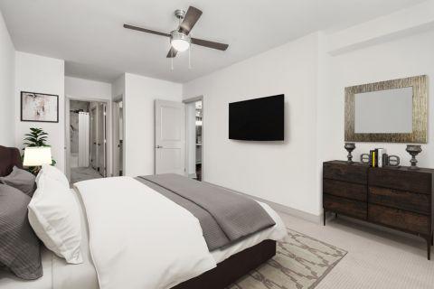 Bedroom at Camden Carolinian in Raleigh North Carolina