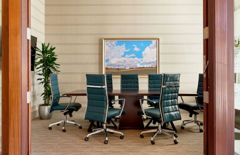 Conference Room at Camden Carolinian in Raleigh North Carolina